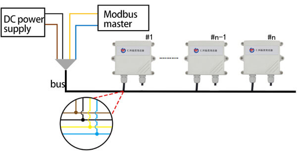 industrial water leak detector wiring