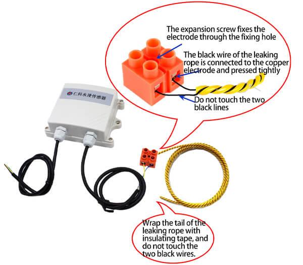 industrial water leak detector details