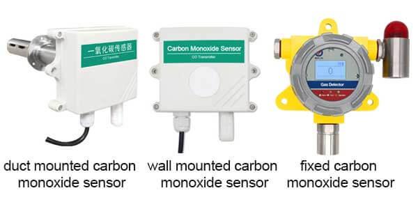 co sensor types