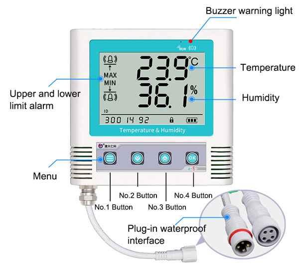 cos03 temperature data logger