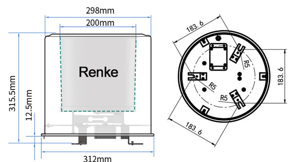 evaporation sensor