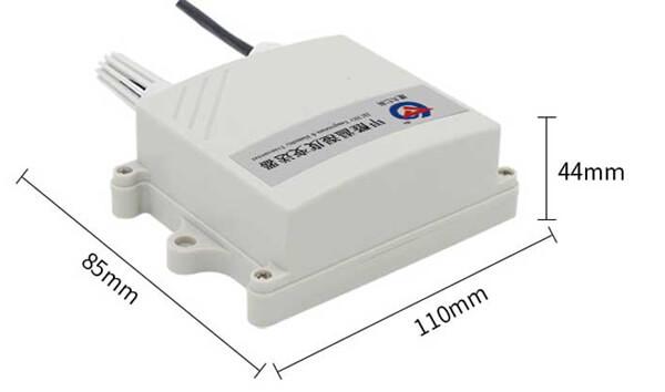 Formaldehyde sensor size