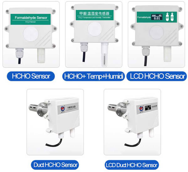 formaldehyde sensor types