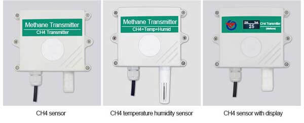 ch4 sensor types