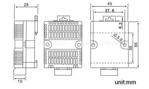 rs485 temperature sensor