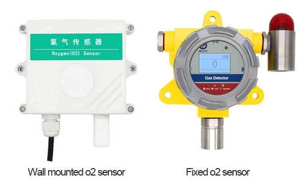 oxygen sensor types
