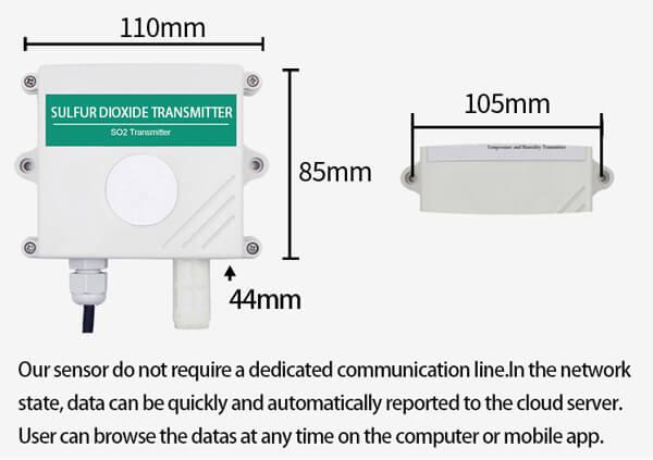 so2 sensor size