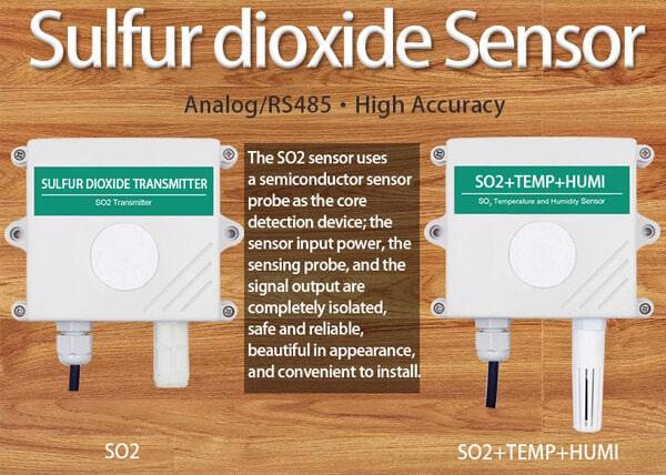 sulfur dioxide sensor types