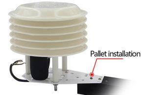 solar radiation shield install