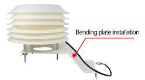 solar radiation shield installation
