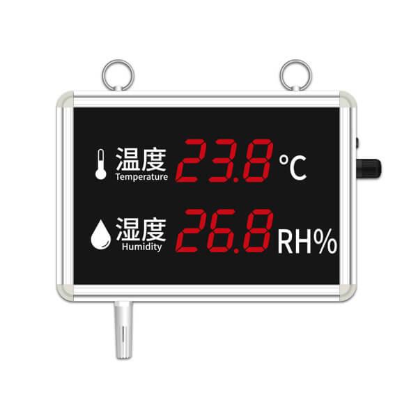 temperature humidity display panel