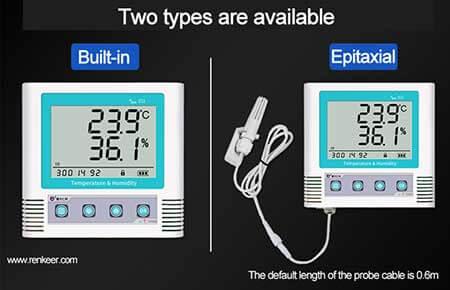 temperature humidity data logger