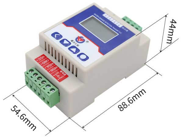 water leakage detector size
