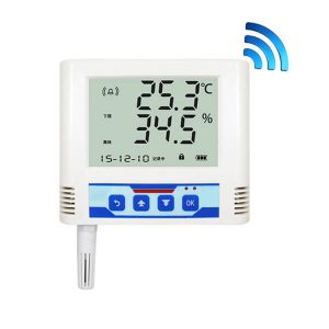 wifi temperature and humidity data logger