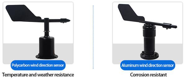 wind direction sensor types