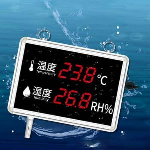 temperature and humidity display panel